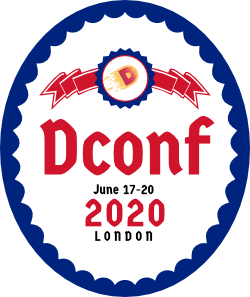 DConf 2020 London Logo